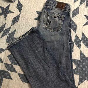 Ladies BKE Jeans (Stella). Boot cut leg